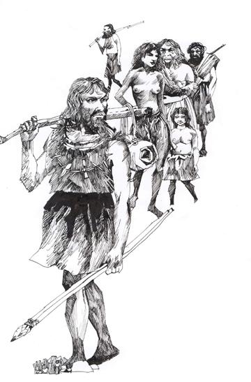 人类祖先的迁移旅程